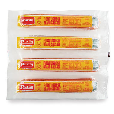 Purity Hot Portuguese Sausage (40 oz.)