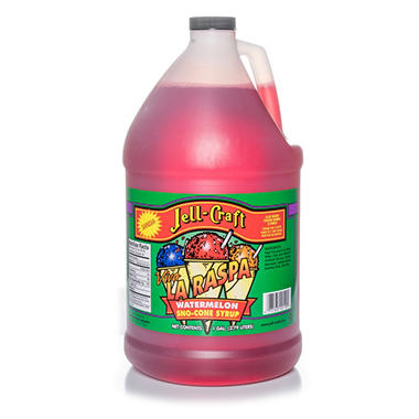 OFFLINE-Jell-Craft Watermelon Sno-Cone Syrup (1 gal.)