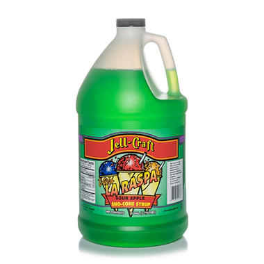 Jell-Craft Sour Apple Sno-Cone Syrup (1 gal.)