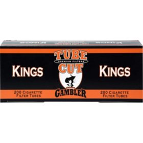 Gambler TubeCut Filter Tubes - 200 ct.