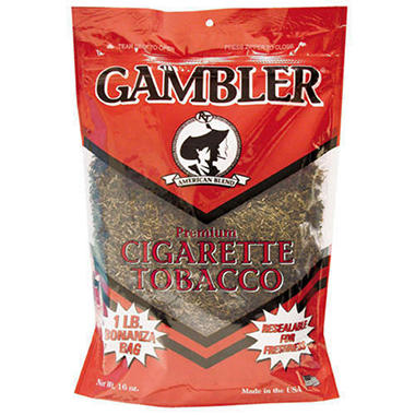 Gambler Regular Tobacco Pouch (12 pk.)