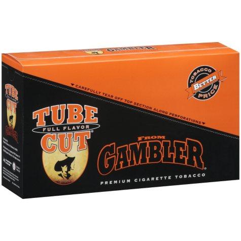 Gambler TubeCut Full Flavor Tobacco - 12 / 0.35 oz. pouches