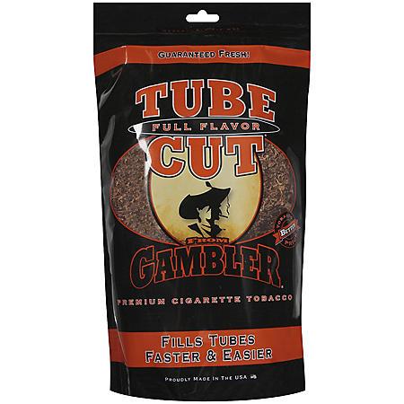 Gambler Tube Cut Full Flavor Tobacco (3 oz. bag)
