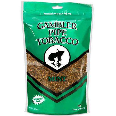 Gambler Large Mint Pipe Tobacco (16 oz.)