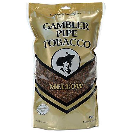 Gambler Large Mellow Pipe Tobacco - 16 oz. bag