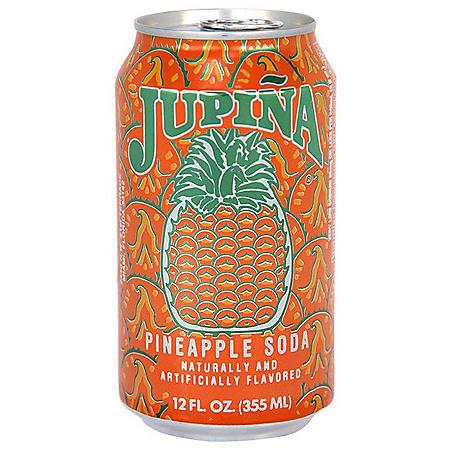 Jupina Pineapple Soda (12oz / 24pk)