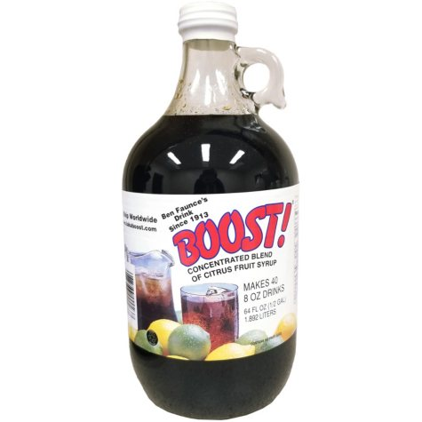 Boost Citrus Syrup Concentrate (64 oz.)