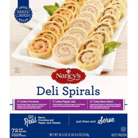 Nancy's Deli Spirals Variety Pack (72 ct.)