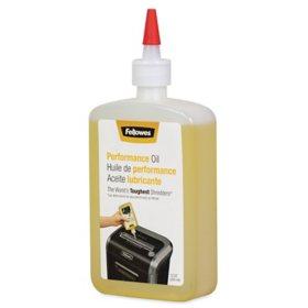 Fellowes - Powershred Performance Oil -  12 oz. Bottle w/Extension Nozzle