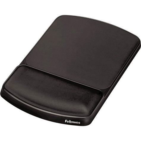 Fellowes - Gel Mouse Pad w/Wrist Rest, Nonskid, 6 1/4 x 10 1/8 -  Platinum/Graphite