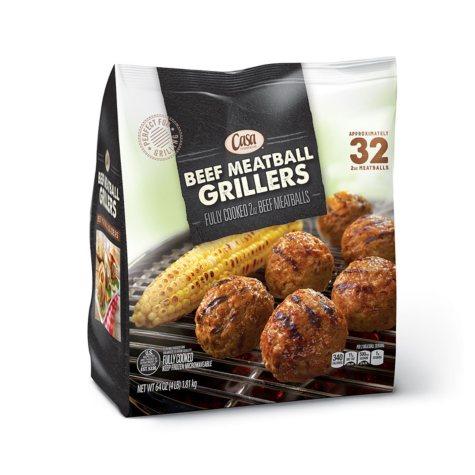 Casa di Bertacchi Beef Meatball Grillers (64 oz.)