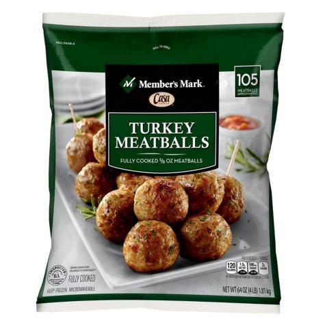 Member's Mark Turkey Meatballs by Casa Di Bertacchi (64 oz.)