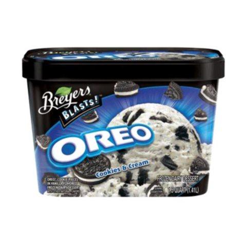 Breyers Blasts Oreo Cookies and Cream (64 oz.)