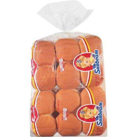 Sunbeam Hamburger Buns (20 oz. bags, 24 ct.)
