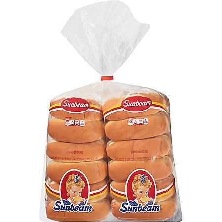 Sunbeam Hot Dog Buns (36 oz., 24 ct.)