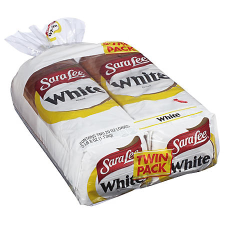 Sara Lee White Bread (20 oz. bag, 2 pk.)