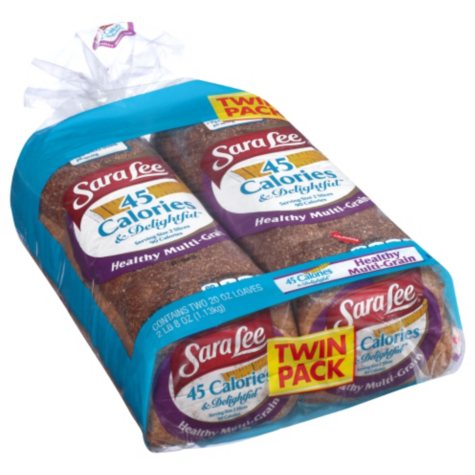 Sara Lee Delightful Healthy Multi-Grain Bread (twin pack)