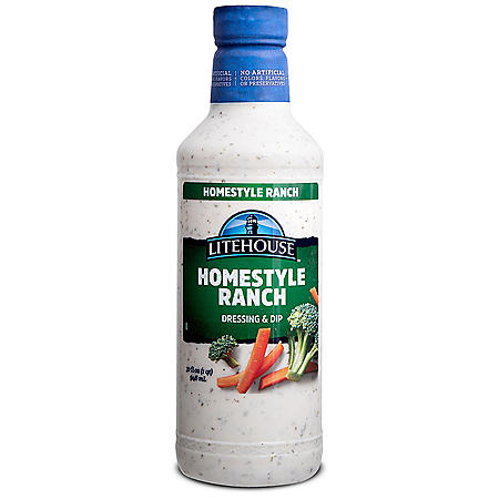 Litehouse Homestyle Ranch Dressing and Dip (32 oz.)