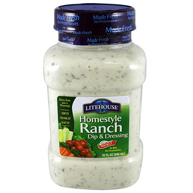Litehouse Homestyle Ranch Dip & Dressing - 32 oz.