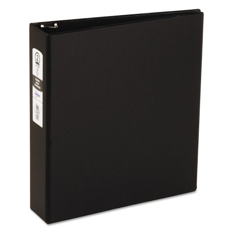 Avery Economy Reference Binder, Round Ring, Black, Select Size