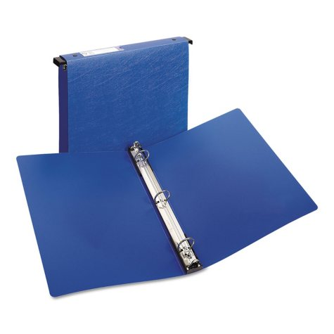 Avery - Hanging File Poly Ring Binder, 1 Capacity, Blue