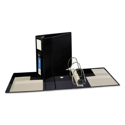 """Avery Heavy-Duty Binder with One Touch EZD Rings, 5"""" Capacity -  Black"""