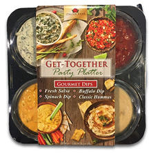 Get-Together Party Platter Gourmet Dips (10 oz., 4 ct.)