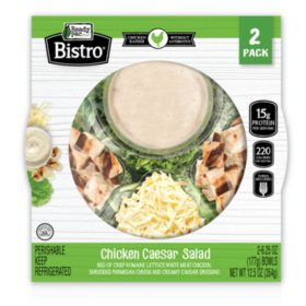 Ready Pac Bistro Chicken Ceasar Salad (6.25 oz., 2 pk.)