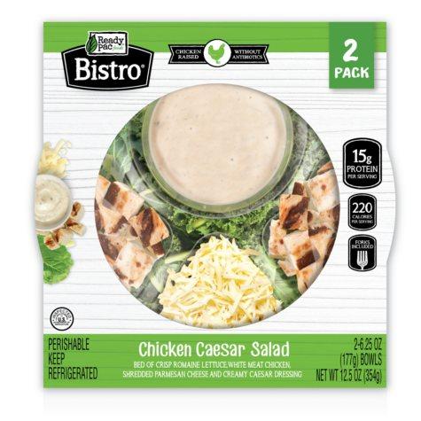 Ready Pac Bistro Chicken Ceasar Salad (6.25 oz., 2 pk.)