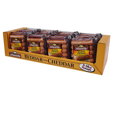 Johnsonville Beddar with Cheddar Smoked Sausage - 42 oz.