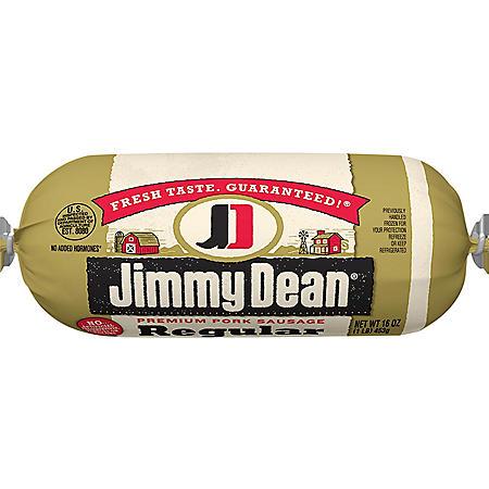 Jimmy Dean Regular Pork Sausage Roll (1 lb.)