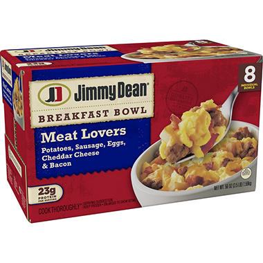 Jimmy Dean Meat Lovers Bowls (8 ct.)
