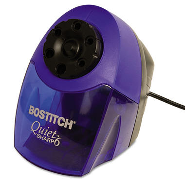 Stanley Bostitch - Quiet Sharp 6 Commercial Desktop Electric Pencil Sharpener - Blue