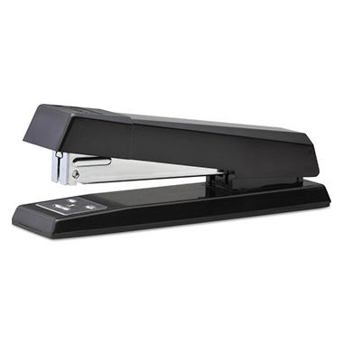 Stanley Bostitch NoJam Full Strip Stapler, 20-Sheet Capacity, Black