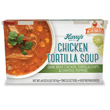 Harry's Chicken Tortilla Soup (32 oz. tubs, 2 pk.)