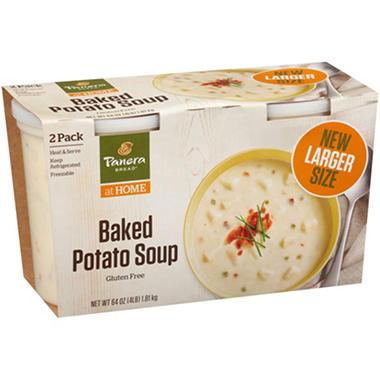 Panera Bread Loaded Baked Potato Soup (32 oz., 2 pk.) - Sam\'s Club