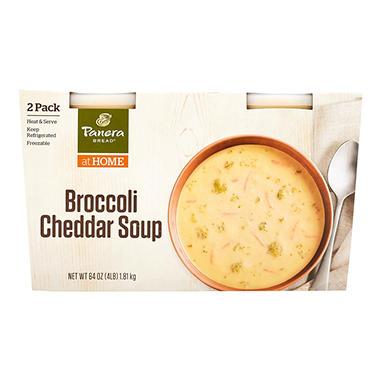 Panera Bread Broccoli Cheddar Soup (32 oz., 2 pk.) - Sam\'s Club