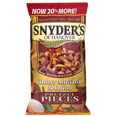 Honey Mustard & Onion Nibblers - 24 oz.