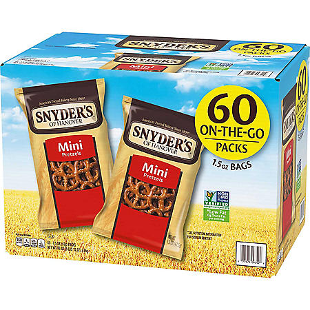 Snyder's Mini Pretzels (1.5 oz., 60 ct.)