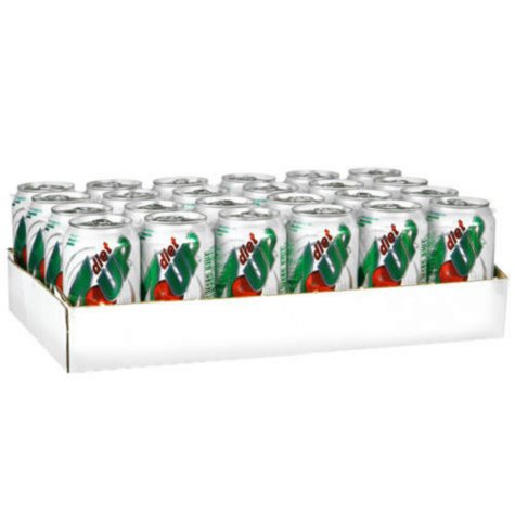 Diet 7-Up (12 oz. cans, 24 pk.)