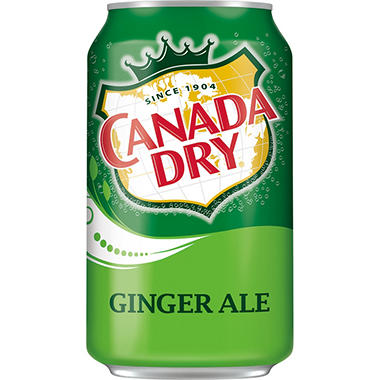 xOFFLINE+Canada Dry Ginger Ale - 12 oz. cans - 6 pk. - 4 ct.
