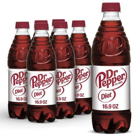 xoffline-Diet Dr Pepper (16.9 oz. bottles, 24 pk.)