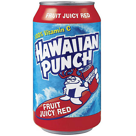 Hawaiian Punch® Fruit Juicy Red - 12/12oz cans