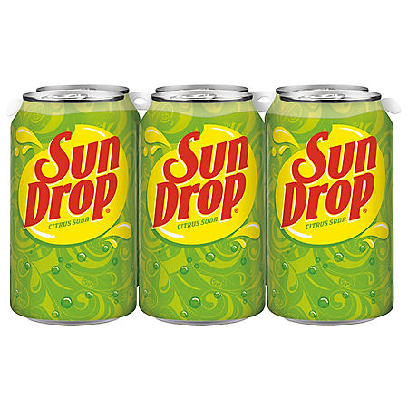 Sun Drop Citrus Soda (12 oz. cans, 24 ct.)