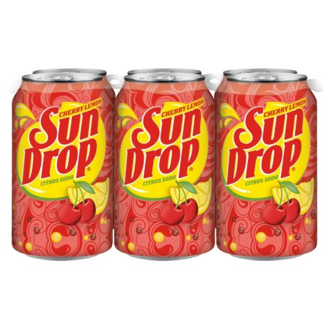 Sun Drop, Cherry Lemon (12 oz. cans, 24 pk.)