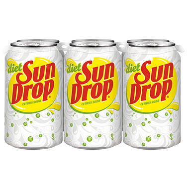 Diet Sun Drop Soda (12 oz. cans, 24 pk.)