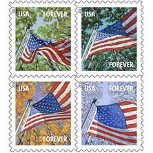 USPS - FOREVER? STAMPS - Flag for All Seasons - 60 Stamps