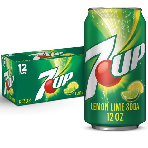 7UP (12 oz. cans, 12 pk.)