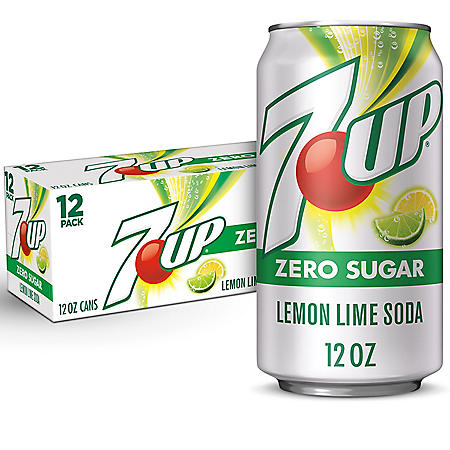 Diet 7UP (12 oz. cans, 12 pk.)