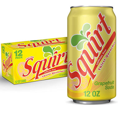 Squirt Citrus Soda (12 oz. cans, 12 pk.)